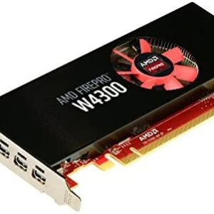 AMD 100-505973 FirePro W4300 Graphics Card - Low Profile Graphic Cards