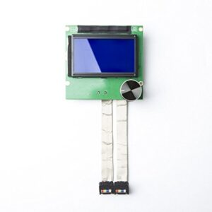 CHPOWER CR10S Screen, 2004 LCD Display Screen for Creality CR-10/ CR-10S/ CR-10S4/ CR-10S5 3D Printers with 2 Ribbon Cables
