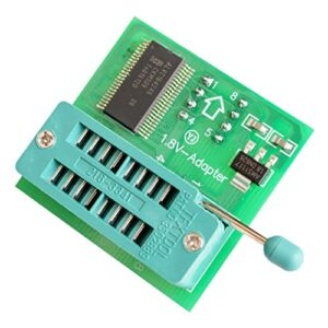 1.8V Adapter for iPhone or Motherboard 1.8V SPI Flash SOP8 DIP8 W25 MX25 use on Programmers TL866CS TL866A EZP2010 EZP2013 CH341