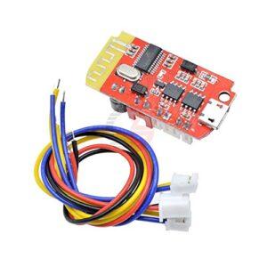 2 Channel 3W Digital Audio Amplifier Board Dual Plate Bluetooth Speaker Modification Sound Music Module Micro USB DC 3.7-5V